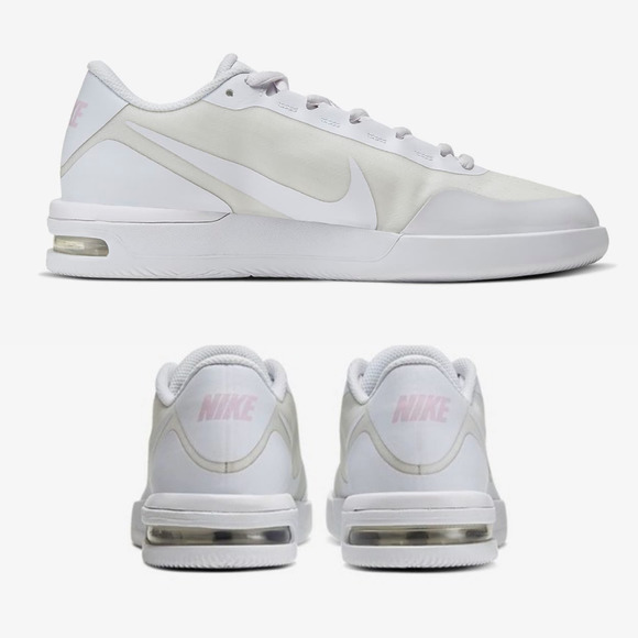 NikeCourt Air Max Vapor Blush Wing White Sneaker
